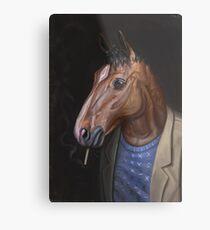 Somber Horse Metal Print