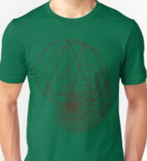 Geometrie Unisex T-Shirt