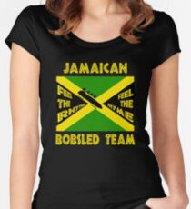 Jamaican Bobsled Team Women's Fitted Scoop T-Shirt