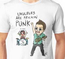 UKULELES ARE FRICKIN PUNK (OFFICIAL) Unisex T-Shirt