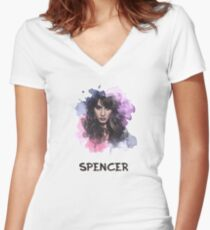Spencer - Pretty Little Liars Women's Fitted V-Neck T-Shirt
