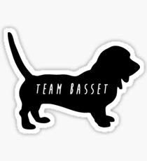 Team Basset Sticker