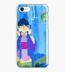 The glamorous life of a spirit medium a la Maya Fey.  iPhone Case/Skin