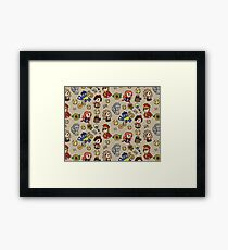 The Eleventh Dr Framed Print