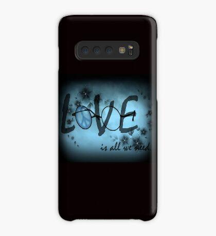 Liebe ist alles was wir brauchen Hülle & Klebefolie für Samsung Galaxy