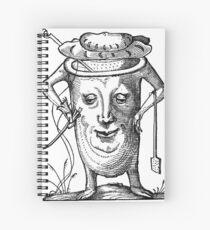 Droll Dreams of Pantagruel Plate 15 Spiral Notebook