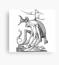 Droll Dreams of Pantagruel Plate 7 Canvas Print