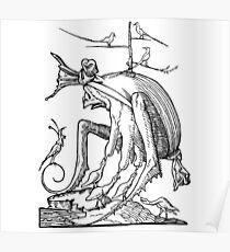 Droll Dreams of Pantagruel Plate 7 Poster
