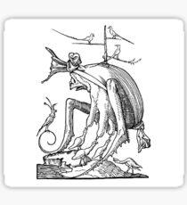 Droll Dreams of Pantagruel Plate 7 Sticker