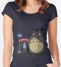 Tonari No Tina Women's Fitted Scoop T-Shirt
