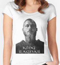 Reigning Ragnar  Women's Fitted Scoop T-Shirt