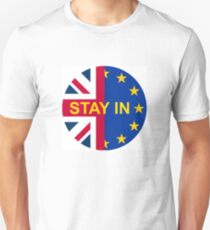 BRITAIN STAY IN THE EU Unisex T-Shirt