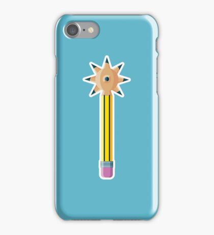 Pencil Morning Star iPhone Case/Skin
