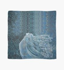 I Am The Storm . with text from Annie Ferguson Scarf