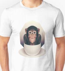 Caffeinimals: Monkey Unisex T-Shirt