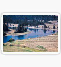 Flathead River 1 Sticker