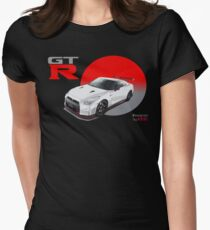 NISSAN GT-R  Women's Fitted T-Shirt