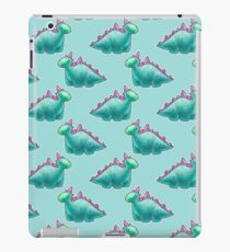 Blue Dinosaur Pattern iPad Case/Skin
