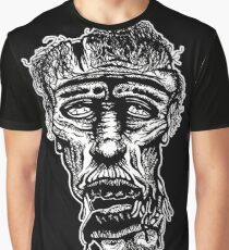 Slack-Jaw Zombie Graphic T-Shirt