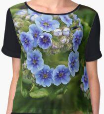 Flower, Walled Garden Chiffon Top