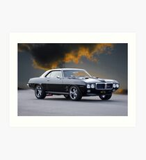 1969 Pontiac Firebird 400 Art Print