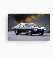 1969 Pontiac Firebird 400 Canvas Print