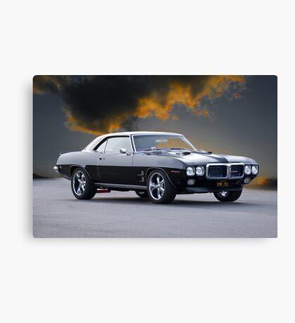 1969 Pontiac Firebird 400 Canvas Print