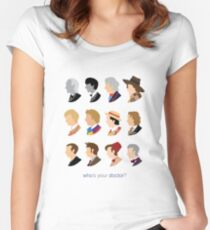 Who's Your Doctor? Women's Fitted Scoop T-Shirt