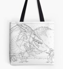 Hoarding Serpent Tote Bag