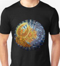 Chinese Phoenix and Dragon Mandala Unisex T-Shirt