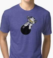 Anomaly & Astronaut - Relax (OUTside) Tri-blend T-Shirt