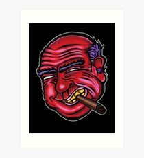Frank - Die Cut Version Art Print