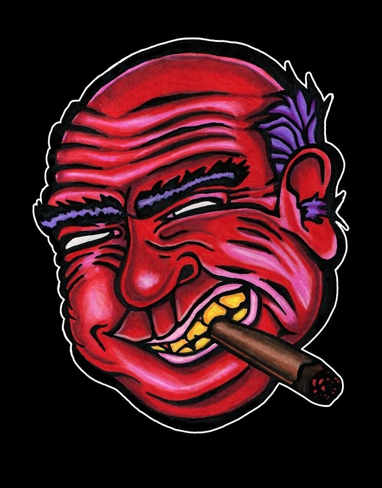 Frank - Die Cut Version by redfeatherone