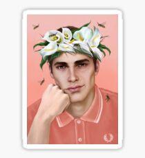 Flower King Sticker