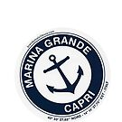 BRANDY MELVILLE MARINA GRANDE STICKER by selinuenal13
