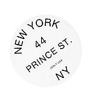 BRANDY MELVILLE NEW YORK STICKER by selinuenal13