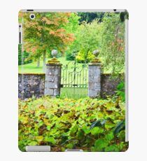 Leith Hall Gardens (Huntly, Aberdeenshire, Scotland) iPad Case/Skin