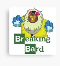 Breaking Bard Canvas Print