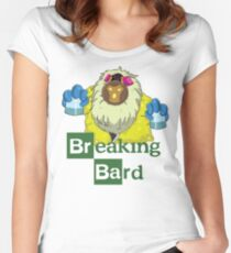 Breaking Bard Women's Fitted Scoop T-Shirt