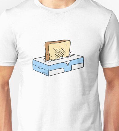 Toast in Tissue Box Unisex T-Shirt