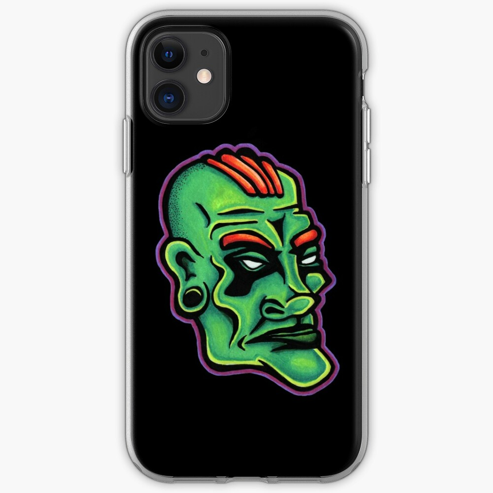 Dwayne - Die Cut Version iPhone Soft Case