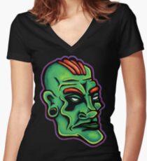 Dwayne - Die Cut Version Fitted V-Neck T-Shirt
