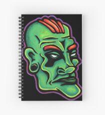 Dwayne - Die Cut Version Spiral Notebook