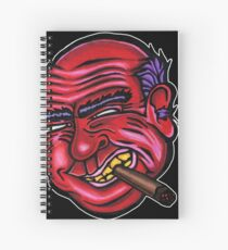 Frank - Die Cut Version Spiral Notebook
