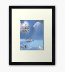 moon beam Framed Print