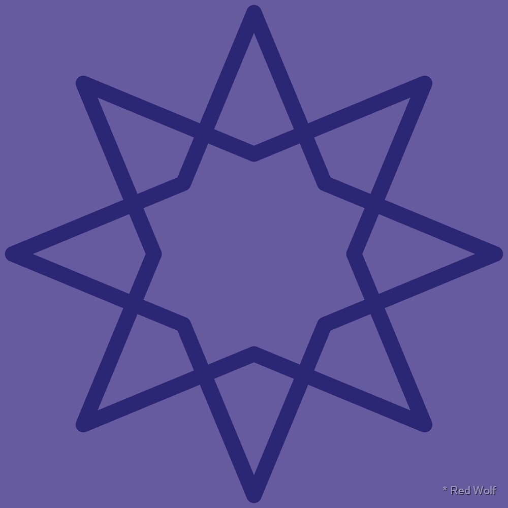 Geometric Pattern: Octagram: Elizabeth by * Red Wolf