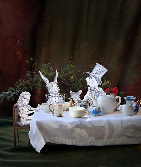 Alice in Wonderland/The Tea Party by SusanSanford