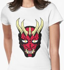 Oni Maul! Womens Fitted T-Shirt