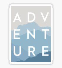 ADVENTURE - Blue Mountain Range Sticker