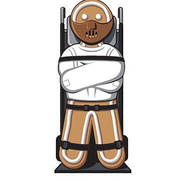 Gingerbread Hannibal by whitedesigner